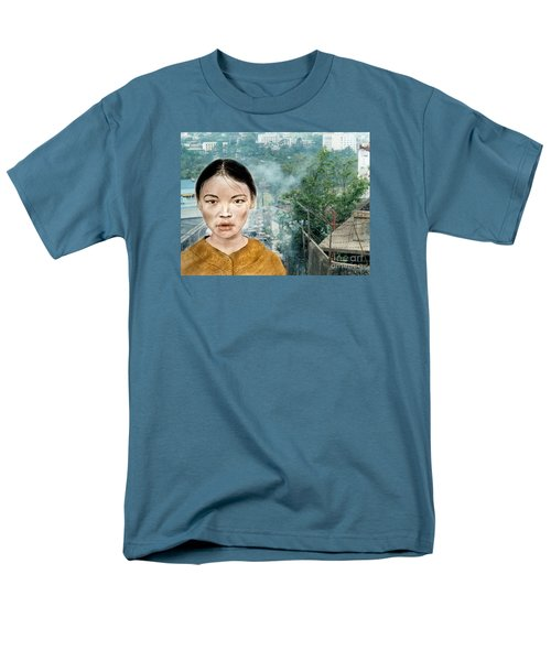 My Kuiama A Young Vietnamese Girl Version II Men's T-Shirt  (Regular Fit) by Jim Fitzpatrick