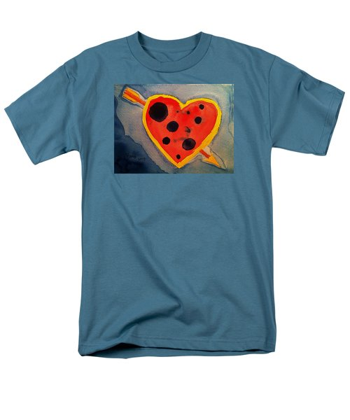 Men's T-Shirt  (Regular Fit) featuring the painting Imperfect Love by Rand Swift