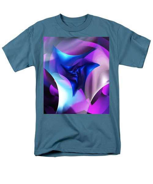 Men's T-Shirt  (Regular Fit) featuring the digital art Mysterious  by David Lane