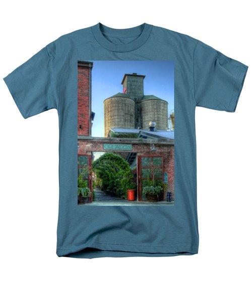Napa Mill Men's T-Shirt  (Regular Fit) by Bill Gallagher