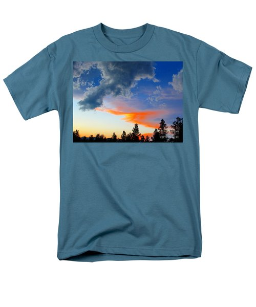 Men's T-Shirt  (Regular Fit) featuring the photograph Nature's Palette by Barbara Chichester