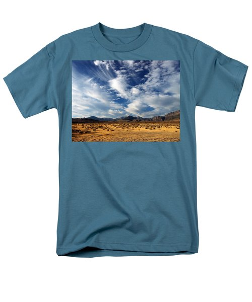 Near The Intersection Of God And The Eastern Sierras Men's T-Shirt  (Regular Fit) by Joe Schofield