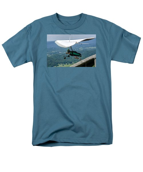 Men's T-Shirt  (Regular Fit) featuring the photograph No Turning Back by Susan  McMenamin