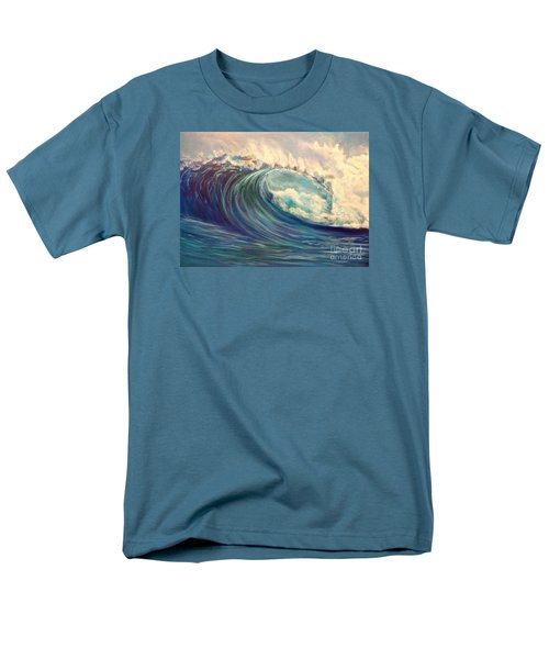Men's T-Shirt  (Regular Fit) featuring the painting North Whore Wave by Jenny Lee