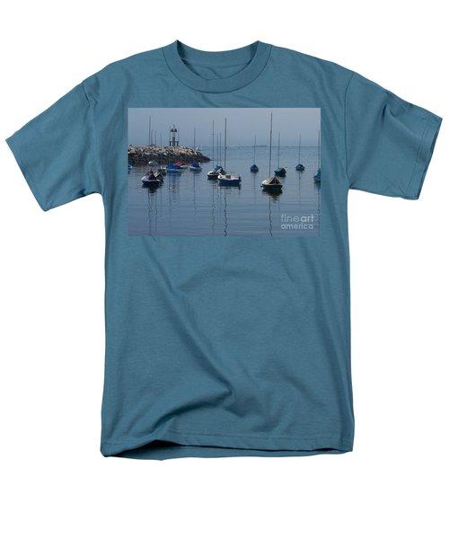 Men's T-Shirt  (Regular Fit) featuring the photograph Sail Boats  by Eunice Miller