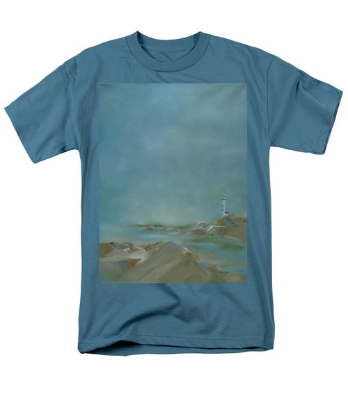 Men's T-Shirt  (Regular Fit) featuring the painting Nova Scotia Fog by Judith Rhue