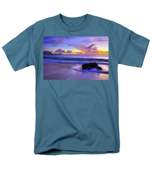 Oahu Sunrise Men's T-Shirt  (Regular Fit) by Dustin  LeFevre