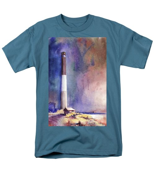 Oak Island Lighthouse Men's T-Shirt  (Regular Fit)