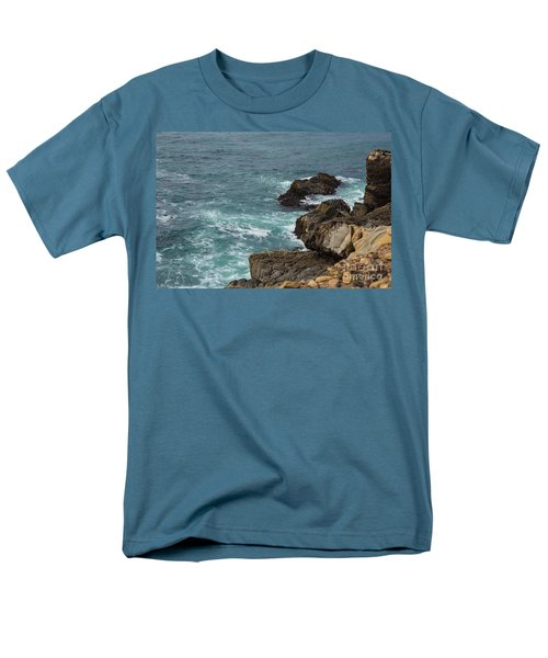 Ocean Below Men's T-Shirt  (Regular Fit) by Suzanne Luft