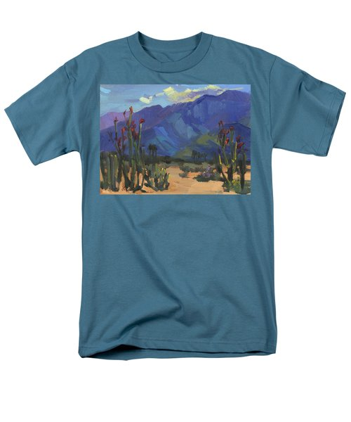 Ocotillos At Smoke Tree Ranch Men's T-Shirt  (Regular Fit) by Diane McClary