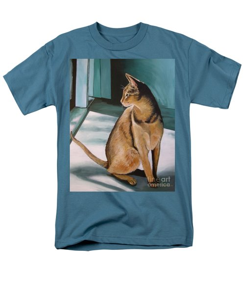 Oh Beautiful House Cat Men's T-Shirt  (Regular Fit)