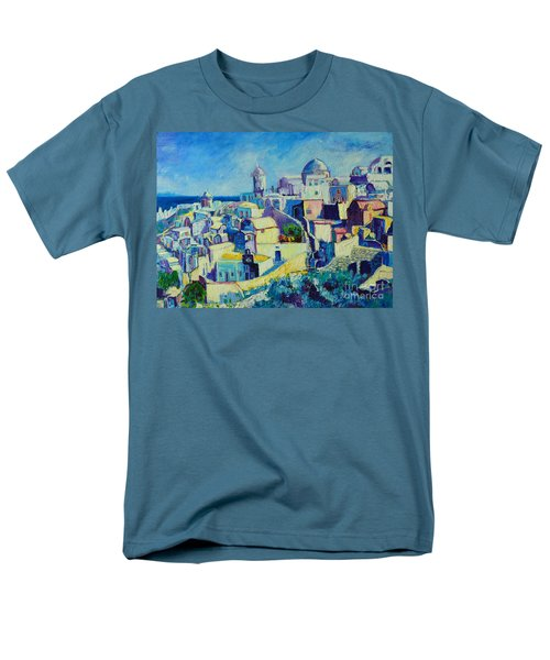 Men's T-Shirt  (Regular Fit) featuring the painting OIA by Ana Maria Edulescu