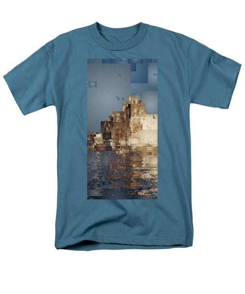 On The Rocks Men's T-Shirt  (Regular Fit) by David Hansen