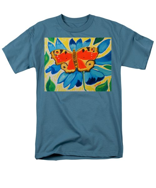 On Top Of My World Men's T-Shirt  (Regular Fit) by Meryl Goudey