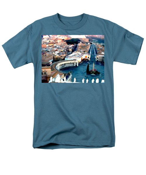 Men's T-Shirt  (Regular Fit) featuring the digital art On Top Of Vatican 1 by Brian Reaves
