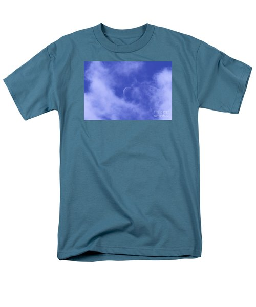 Men's T-Shirt  (Regular Fit) featuring the photograph Once In A Blue Moon by Judy Whitton