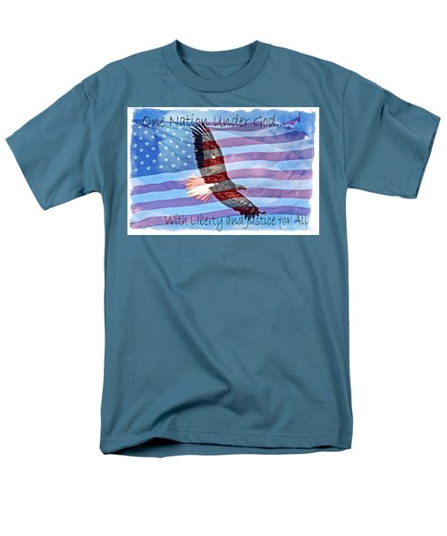 One Nation... Men's T-Shirt  (Regular Fit) by Bob Hislop
