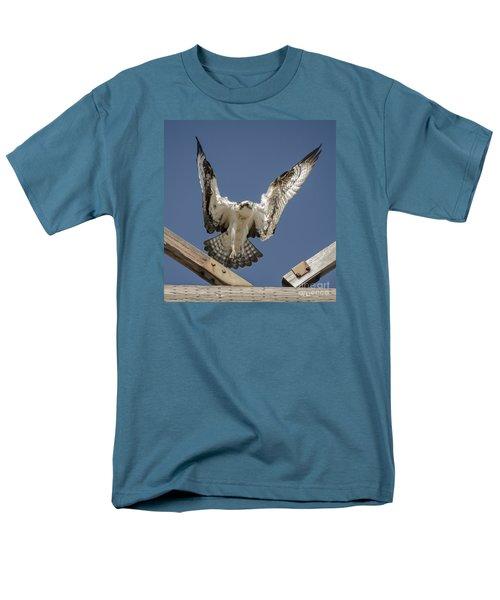 Osprey Landing Men's T-Shirt  (Regular Fit) by Dale Powell