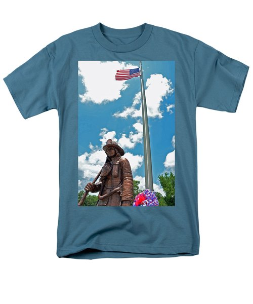 Men's T-Shirt  (Regular Fit) featuring the photograph Our Heroes by Charlotte Schafer