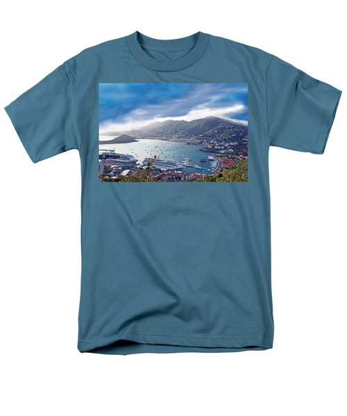 Overlooking The Bay Men's T-Shirt  (Regular Fit) by Aimee L Maher Photography and Art Visit ALMGallerydotcom
