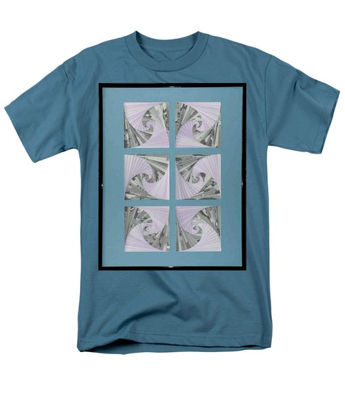 Men's T-Shirt  (Regular Fit) featuring the mixed media Panes by Ron Davidson