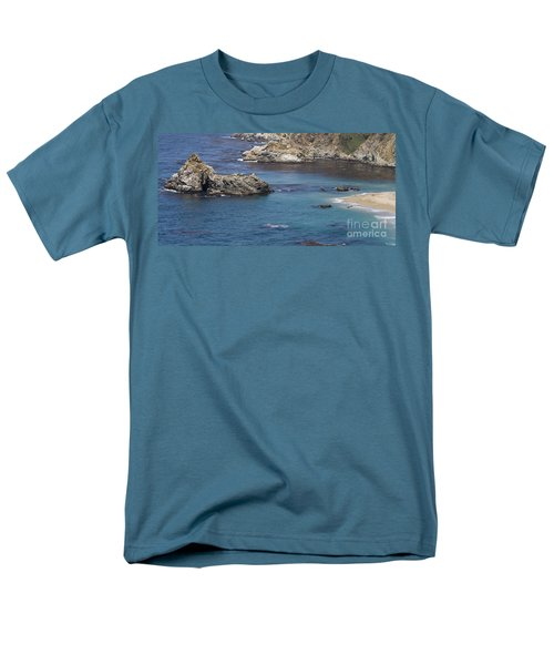 Paradise Beach Men's T-Shirt  (Regular Fit) by David Millenheft