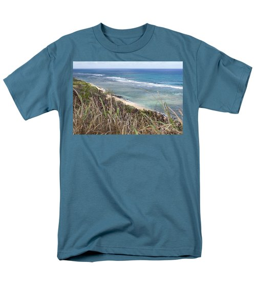 Men's T-Shirt  (Regular Fit) featuring the photograph Paradise Overlook by Suzanne Luft