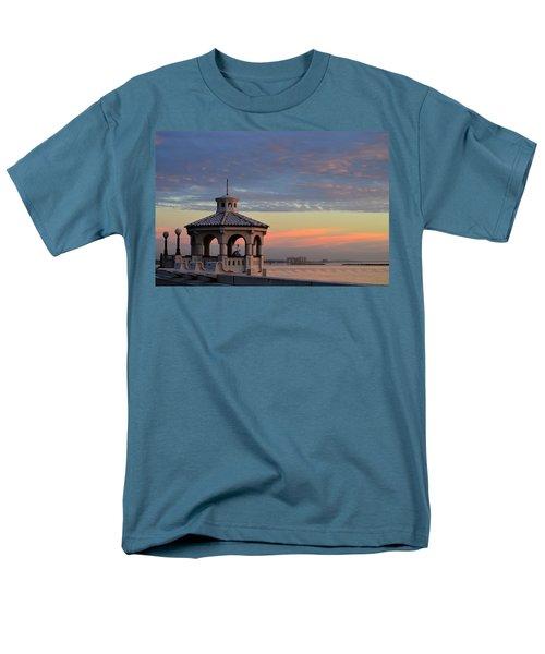 Pastel Sky Men's T-Shirt  (Regular Fit) by Leticia Latocki