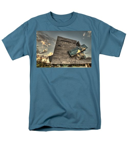 Perot Museum Men's T-Shirt  (Regular Fit) by Jonathan Davison