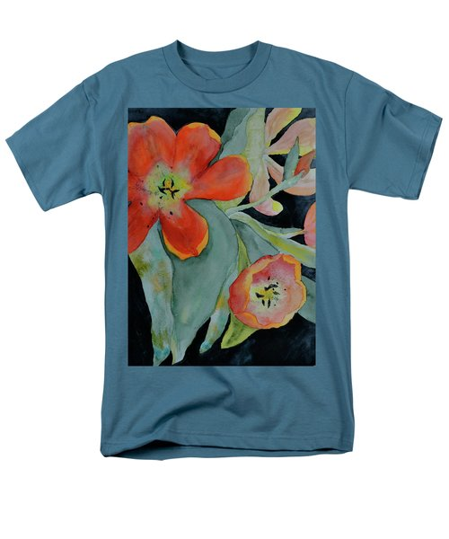 Men's T-Shirt  (Regular Fit) featuring the painting Persevere by Beverley Harper Tinsley