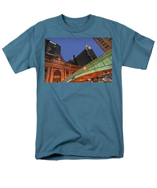 Pershing Square Men's T-Shirt  (Regular Fit) by Susan Candelario