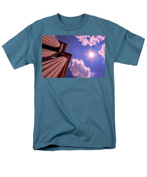 Pillars In The Sun Men's T-Shirt  (Regular Fit) by Matt Harang