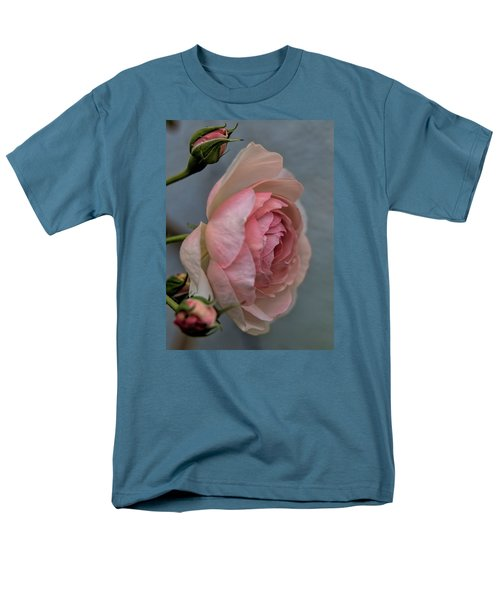 Men's T-Shirt  (Regular Fit) featuring the photograph Pink Rose by Leif Sohlman