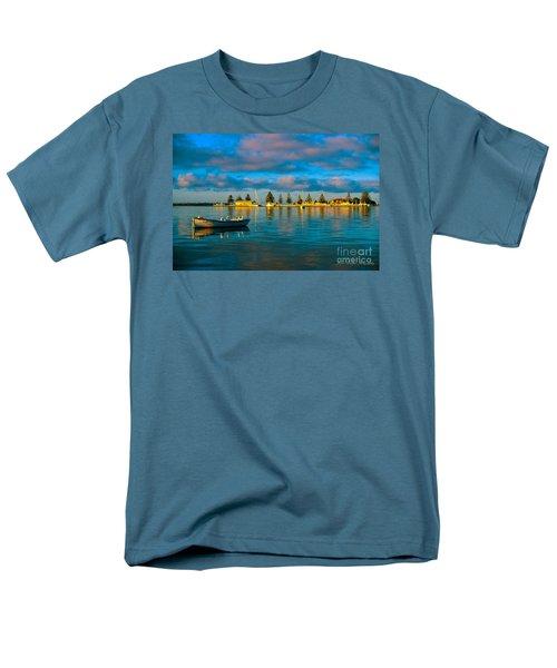 Port Albert Bay Men's T-Shirt  (Regular Fit) by James  Dierker