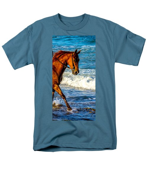 Prancing In The Sea Men's T-Shirt  (Regular Fit) by Shannon Harrington