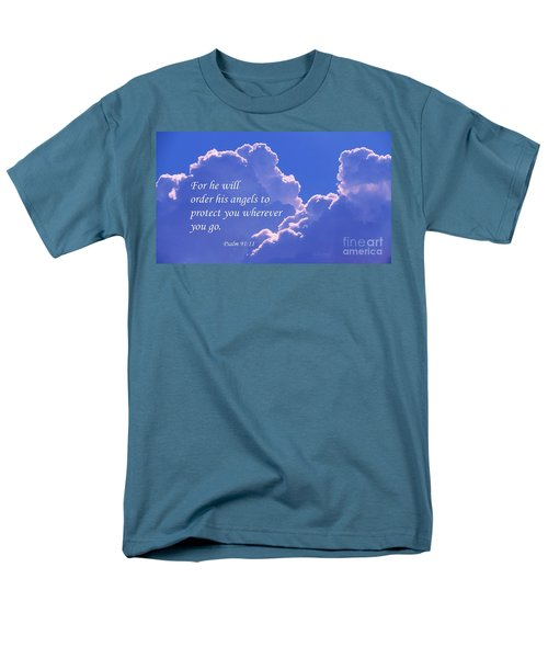 Promise Of Protection Men's T-Shirt  (Regular Fit) by Robert ONeil