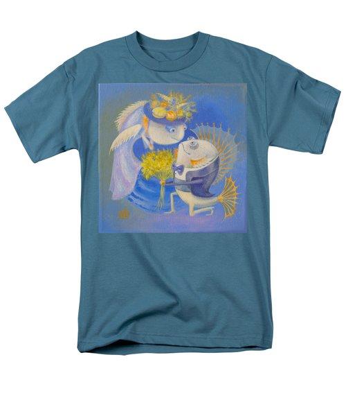 Proposal Men's T-Shirt  (Regular Fit) by Marina Gnetetsky