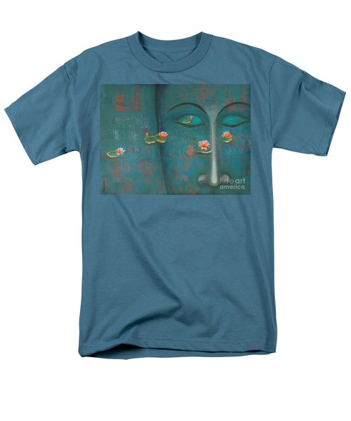 Men's T-Shirt  (Regular Fit) featuring the painting Pure Thoughts by Mini Arora