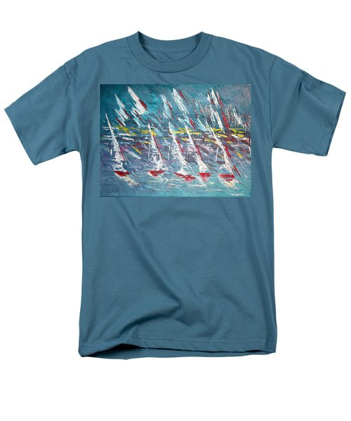 Racing To The Limits - Sold Men's T-Shirt  (Regular Fit) by George Riney