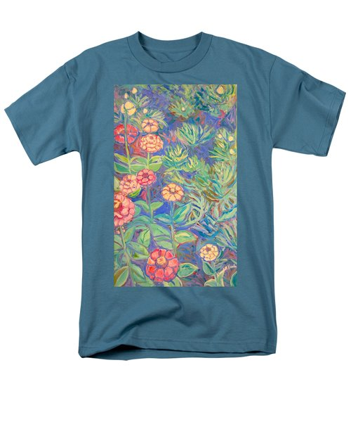 Radford Library Butterfly Garden Men's T-Shirt  (Regular Fit) by Kendall Kessler