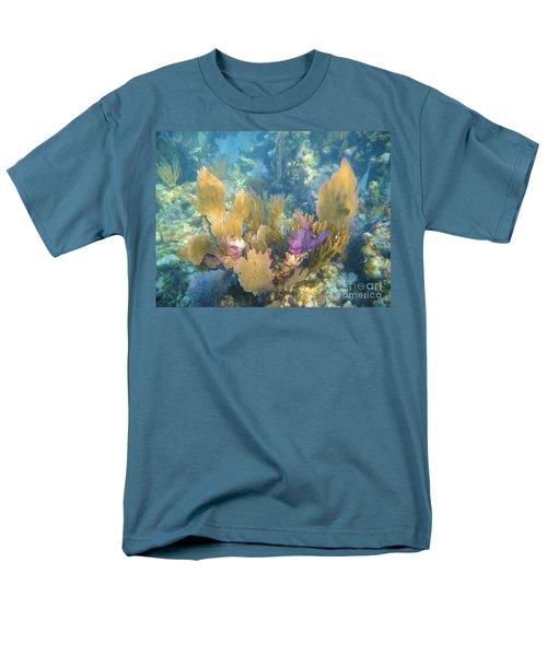 Rainbow Forest Men's T-Shirt  (Regular Fit) by Adam Jewell