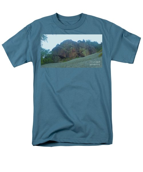 Men's T-Shirt  (Regular Fit) featuring the photograph Rainbow Rock by John Williams