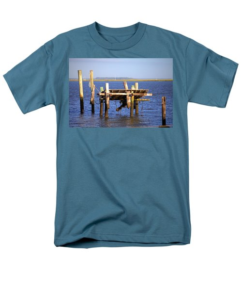 Men's T-Shirt  (Regular Fit) featuring the photograph Remnants by Gordon Elwell