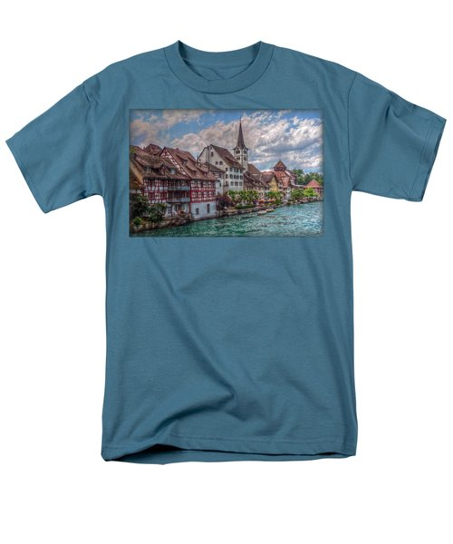 Men's T-Shirt  (Regular Fit) featuring the photograph Rhine Bank by Hanny Heim
