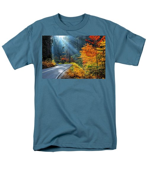 Road To Glory  Men's T-Shirt  (Regular Fit) by Lynn Bauer