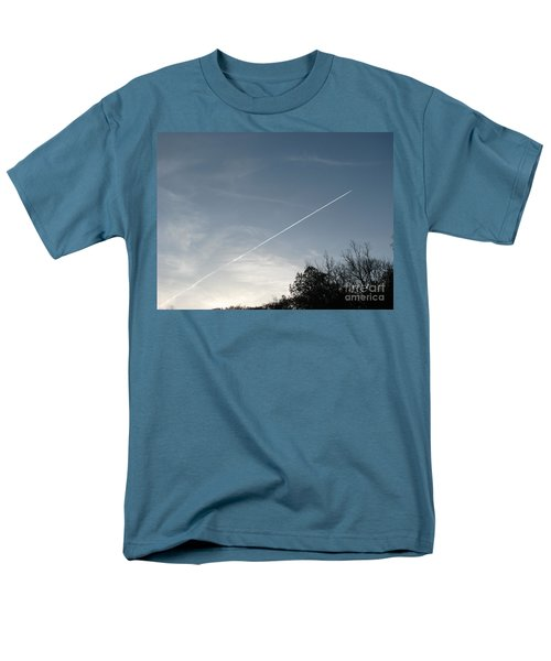 Men's T-Shirt  (Regular Fit) featuring the photograph Rocket To The Stars by Michael Krek