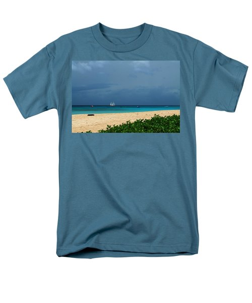 Sail Away Men's T-Shirt  (Regular Fit) by Catie Canetti