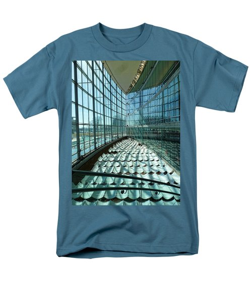 Men's T-Shirt  (Regular Fit) featuring the photograph Salt Lake City Library by Ely Arsha