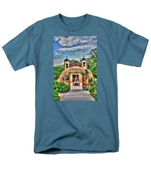 Santuario De Chimayo Men's T-Shirt  (Regular Fit) by Lanita Williams