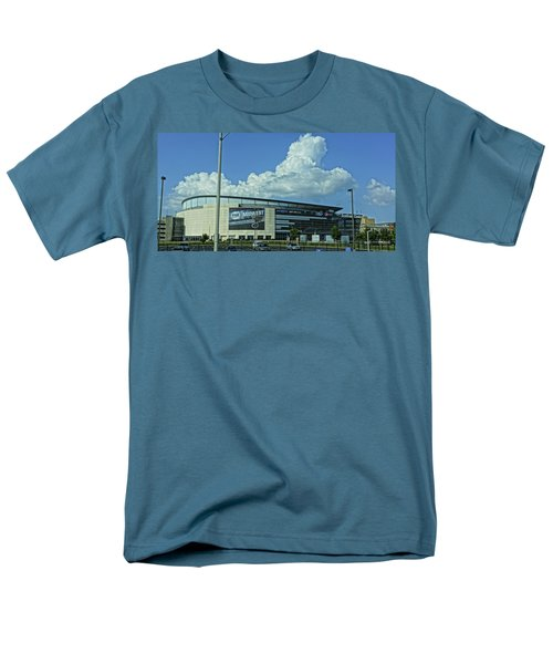 Scottrade Center Home Of The St Louis Blues Men's T-Shirt  (Regular Fit) by Greg Kluempers